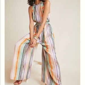 NEW Anthropologie Gallery Row Jumpsuit